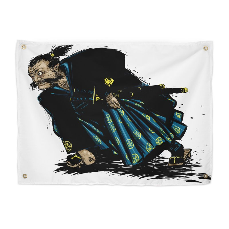 Oni Home Tapestry by Dwayne Clare's Artist Shop