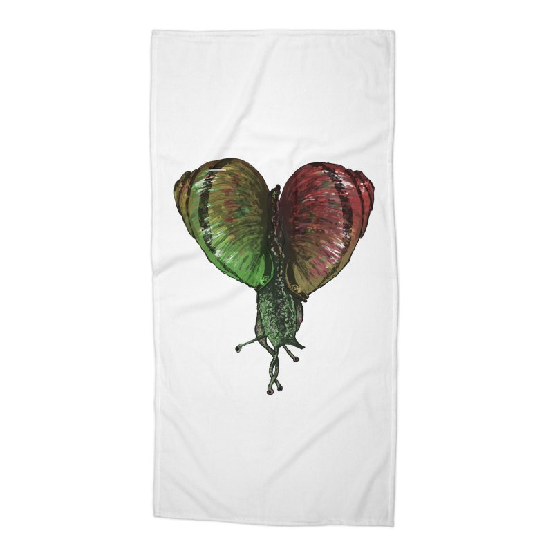 Turbo Love Accessories Beach Towel by Dwayne Clare's Artist Shop