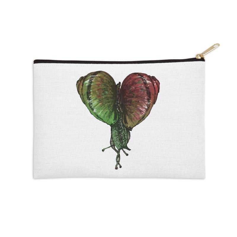 Turbo Love Accessories Zip Pouch by Dwayne Clare's Artist Shop