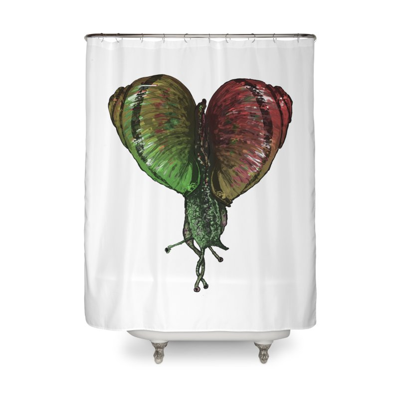 Turbo Love Home Shower Curtain by Dwayne Clare's Artist Shop