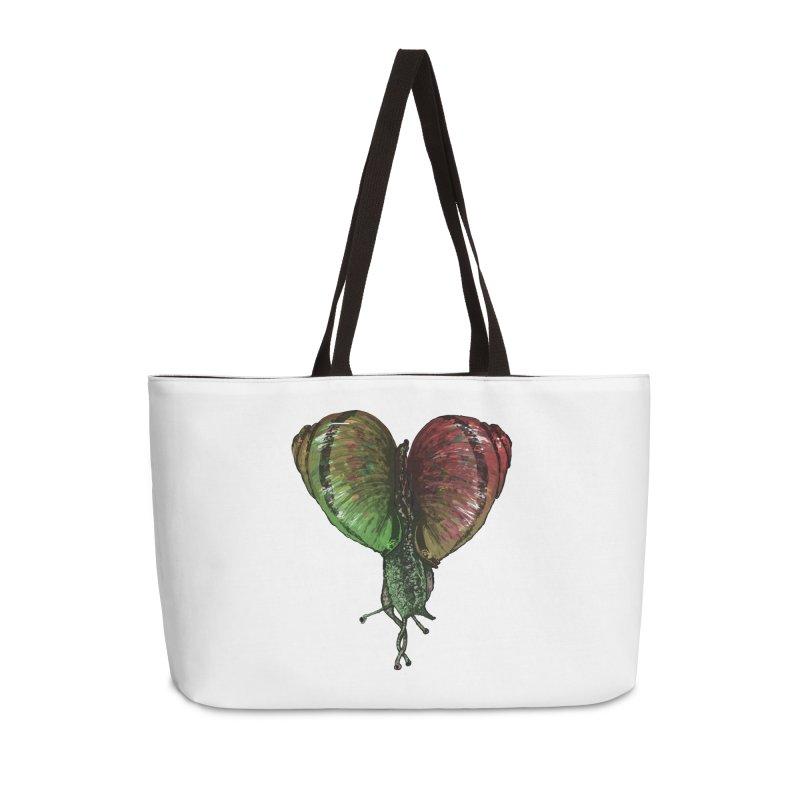 Turbo Love Accessories Weekender Bag Bag by Dwayne Clare's Artist Shop