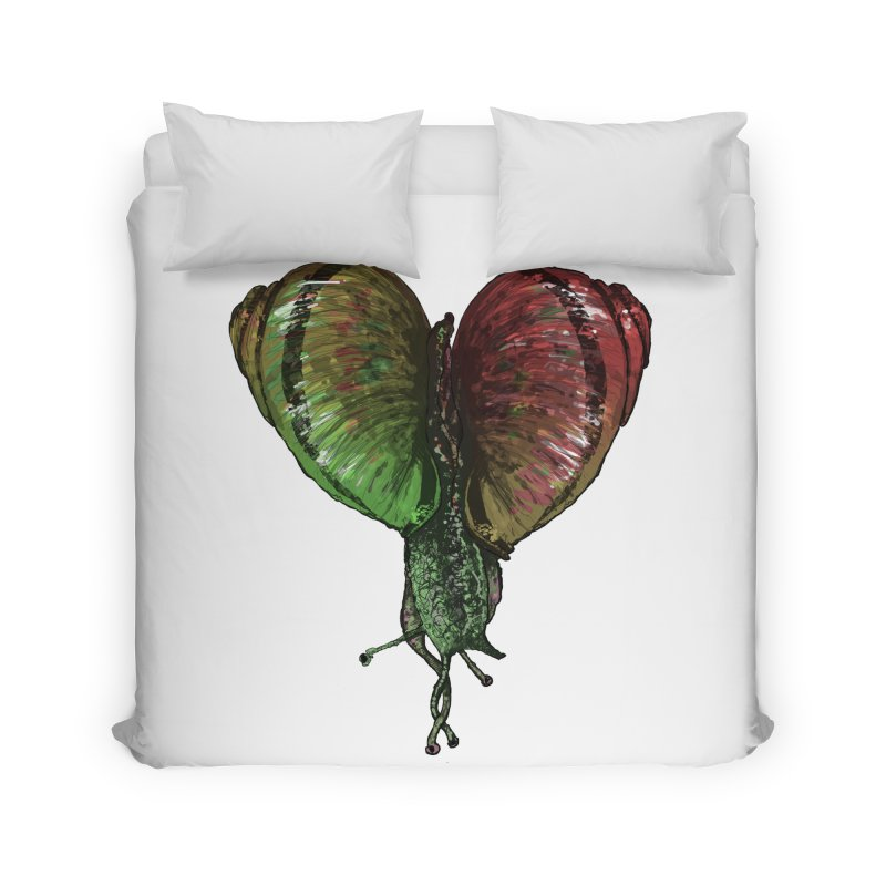 Turbo Love Home Duvet by Dwayne Clare's Artist Shop
