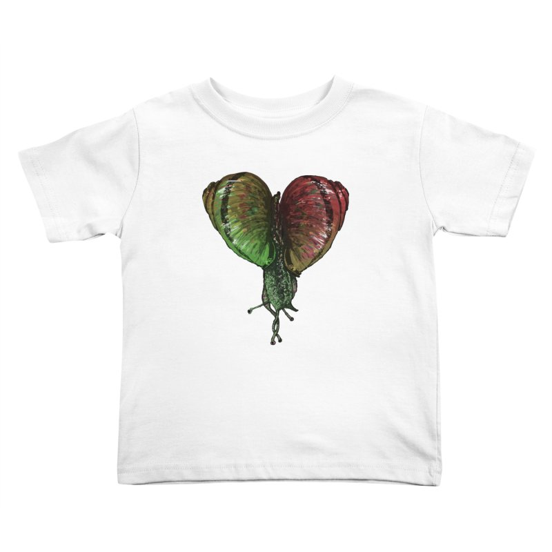 Turbo Love Kids Toddler T-Shirt by Dwayne Clare's Artist Shop