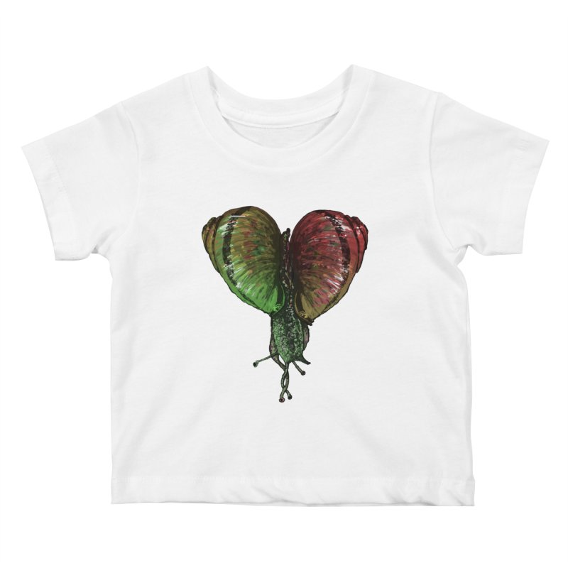 Turbo Love Kids Baby T-Shirt by Dwayne Clare's Artist Shop