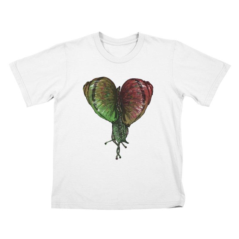 Turbo Love Kids T-shirt by Dwayne Clare's Artist Shop
