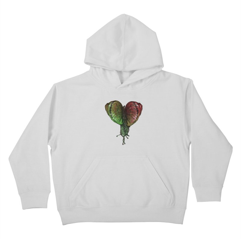 Turbo Love Kids Pullover Hoody by Dwayne Clare's Artist Shop