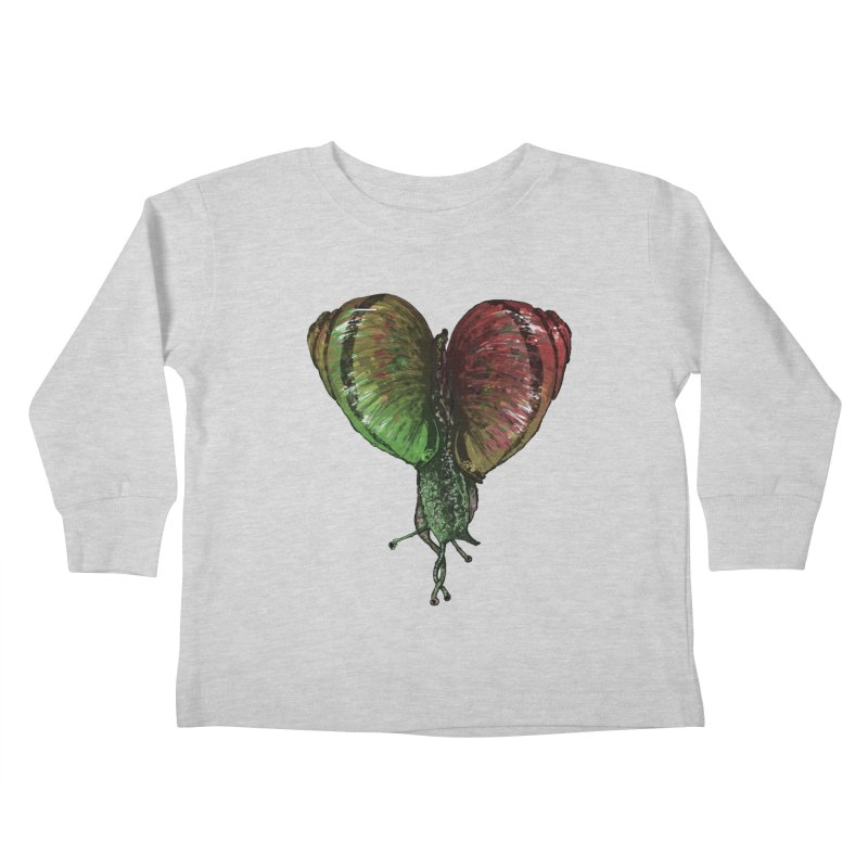 Turbo Love Kids Toddler Longsleeve T-Shirt by Dwayne Clare's Artist Shop