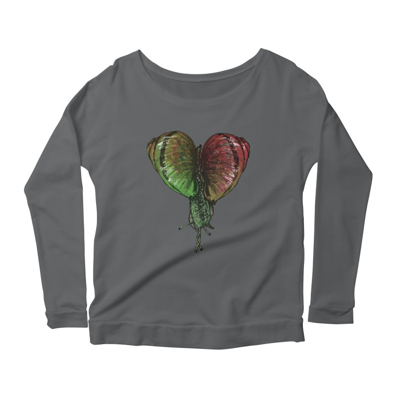 Turbo Love Women's Longsleeve Scoopneck  by Dwayne Clare's Artist Shop