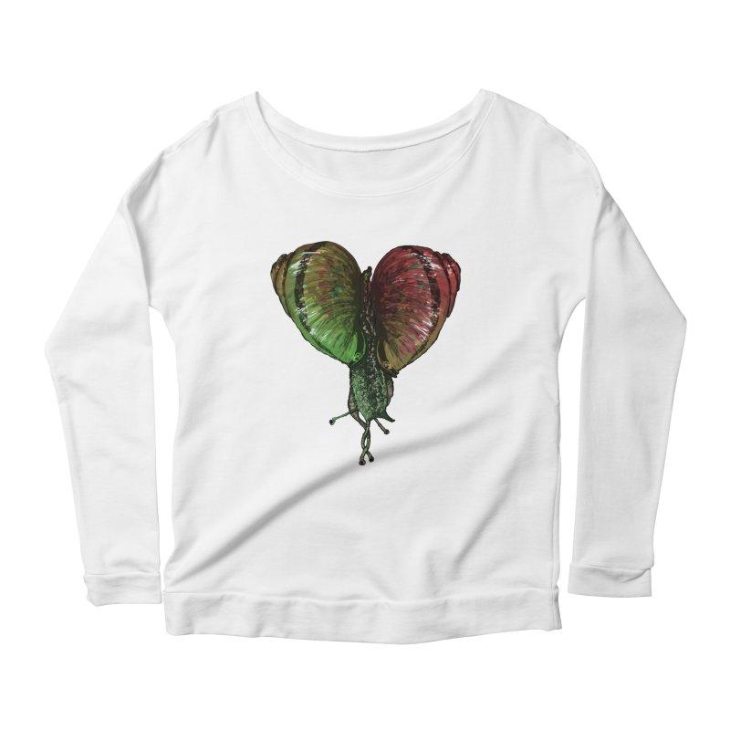 Turbo Love Women's Scoop Neck Longsleeve T-Shirt by Dwayne Clare's Artist Shop