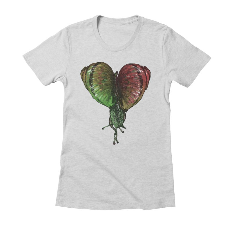 Turbo Love Women's Fitted T-Shirt by Dwayne Clare's Artist Shop