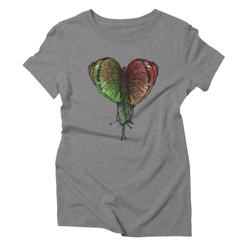 Turbo Love Women's Triblend T-Shirt by Dwayne Clare's Artist Shop