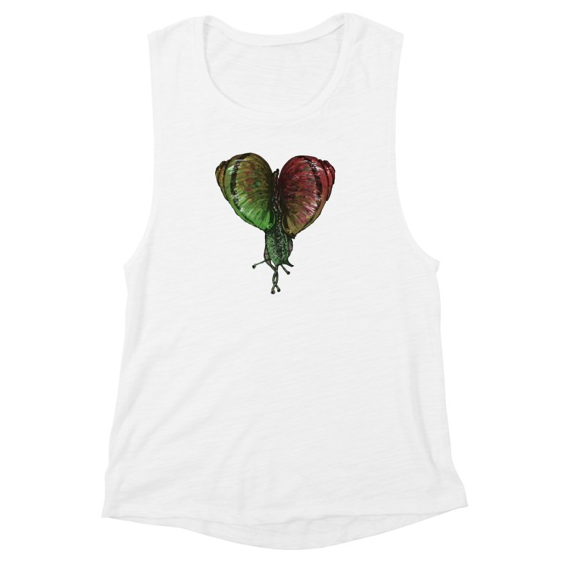Turbo Love Women's Muscle Tank by Dwayne Clare's Artist Shop