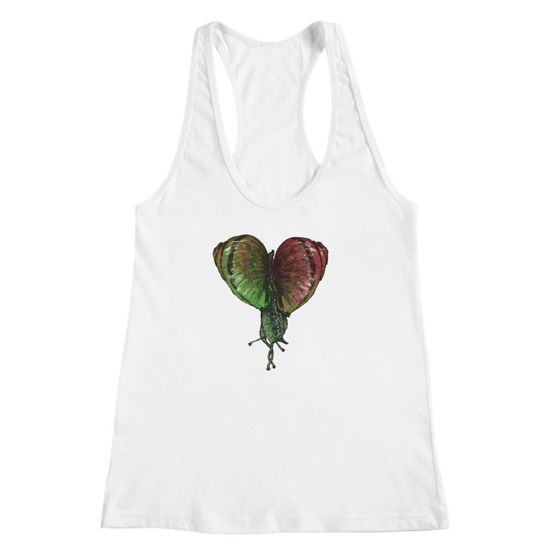 Turbo Love Women's Racerback Tank by Dwayne Clare's Artist Shop