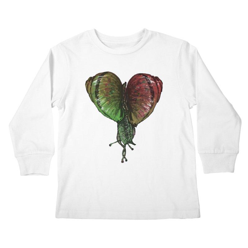 Turbo Love Kids Longsleeve T-Shirt by Dwayne Clare's Artist Shop