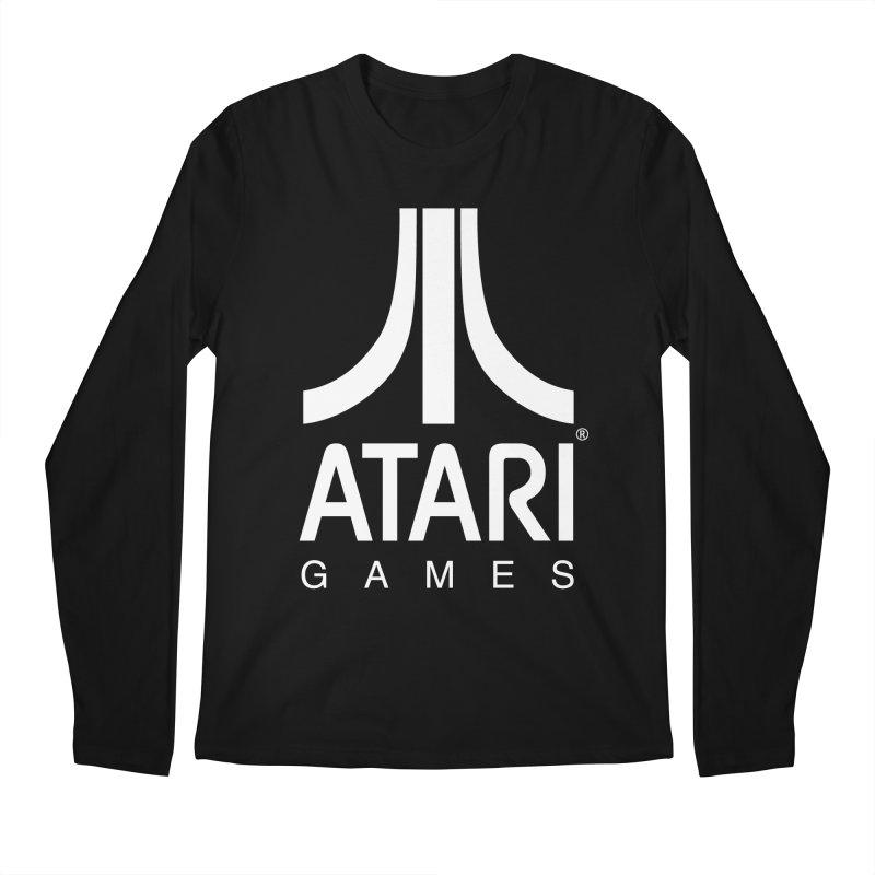 atari-test Men's Regular Longsleeve T-Shirt by Dwayne Clare's Artist Shop