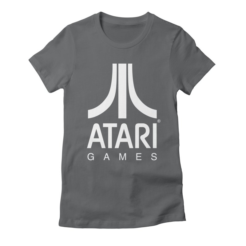 atari-test Women's Fitted T-Shirt by Dwayne Clare's Artist Shop
