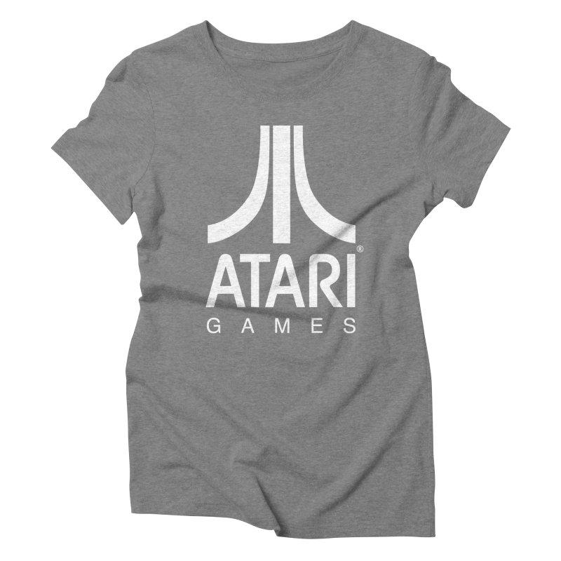 atari-test Women's Triblend T-Shirt by Dwayne Clare's Artist Shop