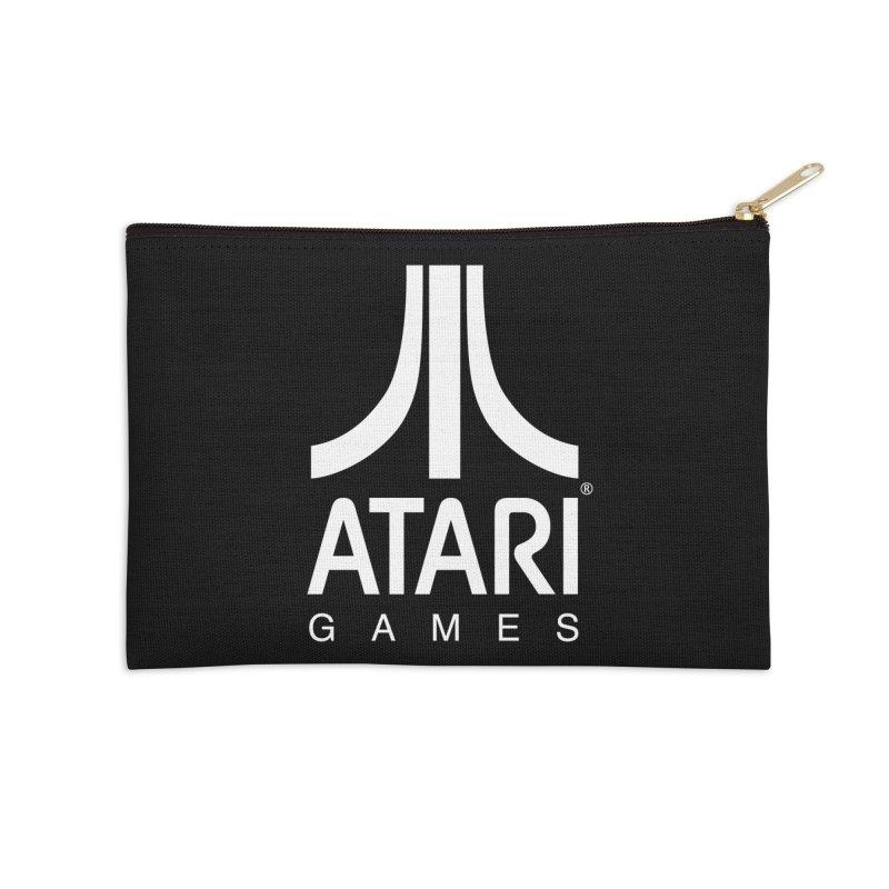 atari-test Accessories Zip Pouch by Dwayne Clare's Artist Shop