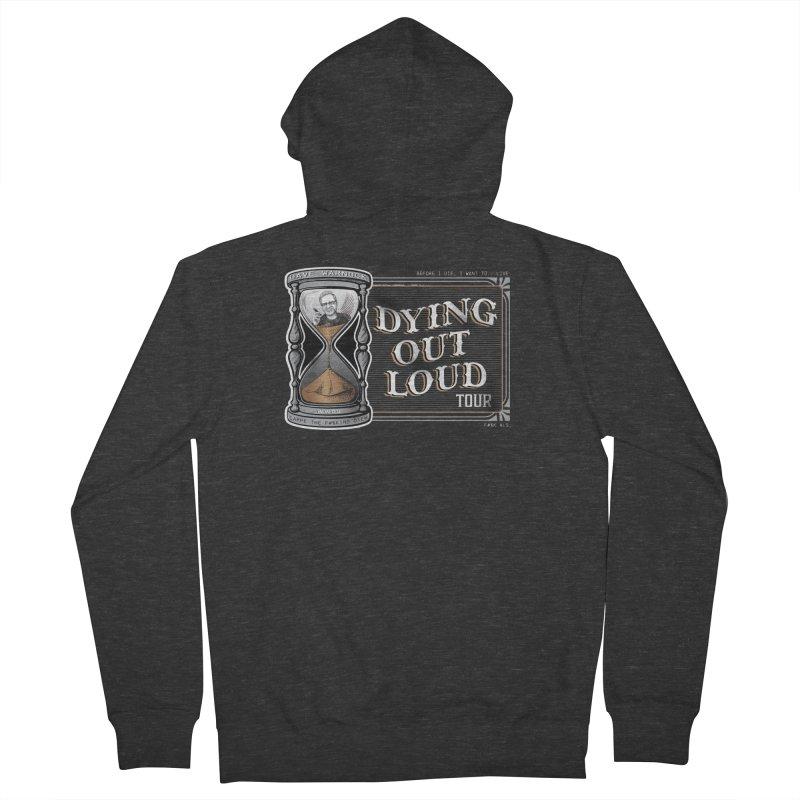 Dying Out Loud Tour (rated R) Men's French Terry Zip-Up Hoody by Dying Out Loud Swag