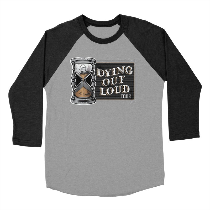 Dying Out Loud Tour (rated R) Men's Baseball Triblend Longsleeve T-Shirt by Dying Out Loud Swag