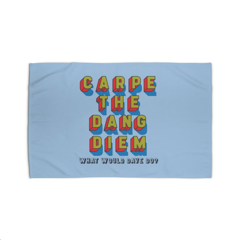 Carpe The Dang Diem Home Rug by Dying Out Loud Swag