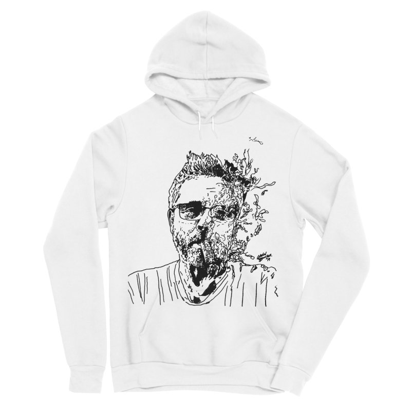 Life, Death, & Cigars (no text) Men's Sponge Fleece Pullover Hoody by Dying Out Loud Swag
