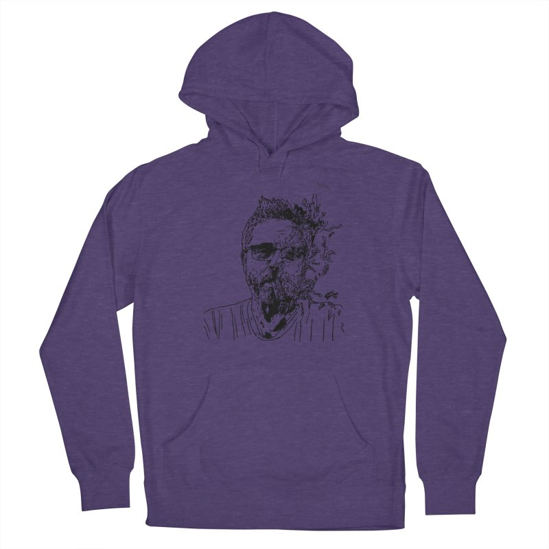 Life, Death, & Cigars (no text) Men's French Terry Pullover Hoody by Dying Out Loud Swag