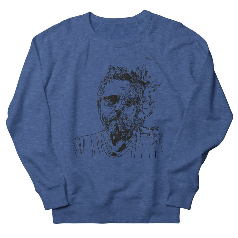 Life, Death, & Cigars (no text) Men's French Terry Sweatshirt by Dying Out Loud Swag