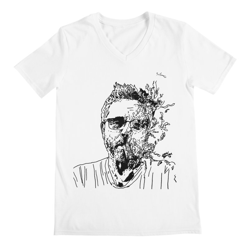 Life, Death, & Cigars (no text) Men's V-Neck by Dying Out Loud Swag