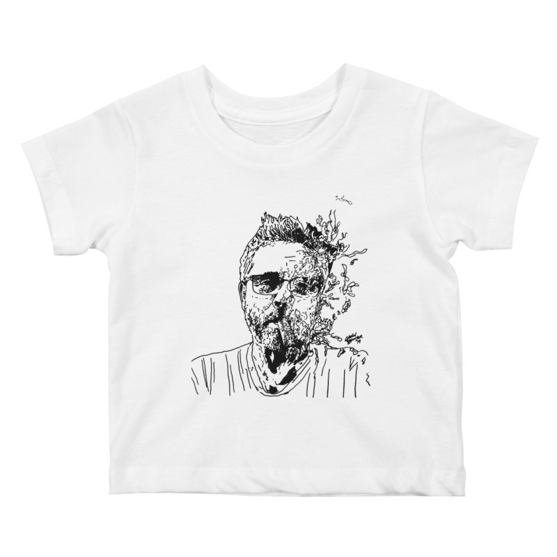 Life, Death, & Cigars (no text) Kids Baby T-Shirt by Dying Out Loud Swag