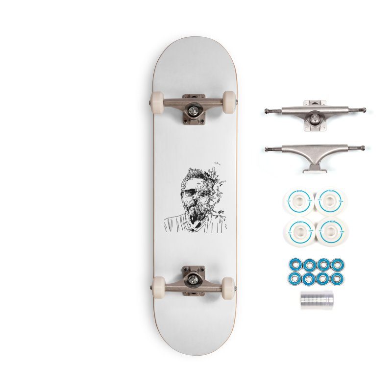 Life, Death, & Cigars (no text) Accessories Complete - Basic Skateboard by Dying Out Loud Swag