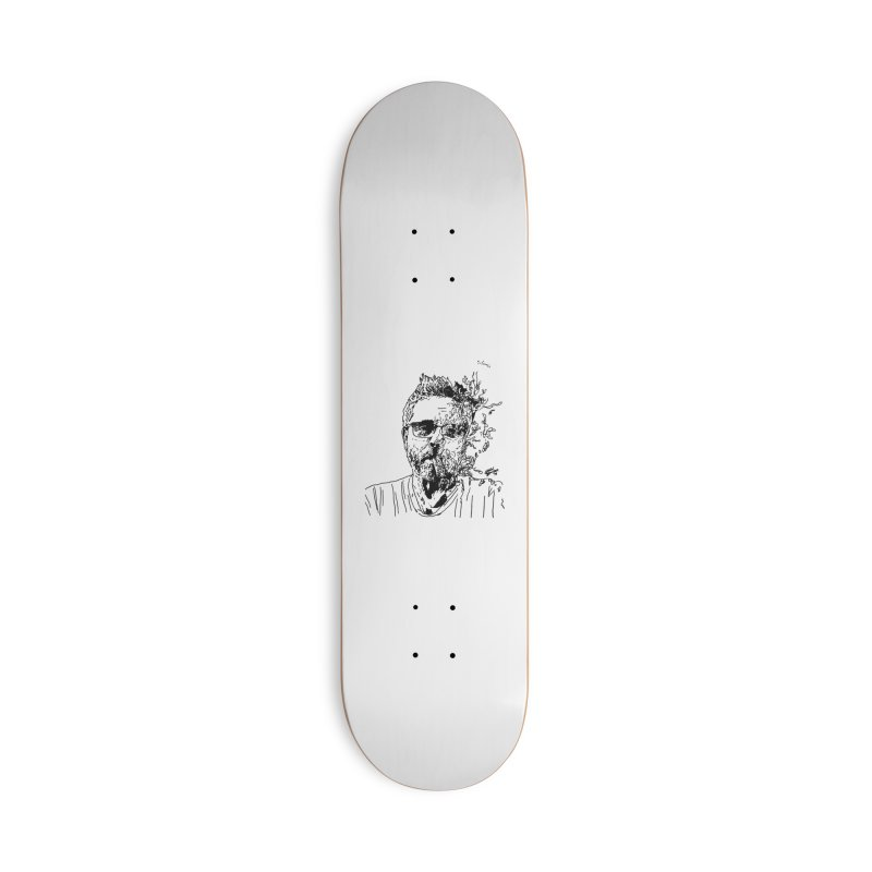 Life, Death, & Cigars (no text) Accessories Deck Only Skateboard by Dying Out Loud Swag