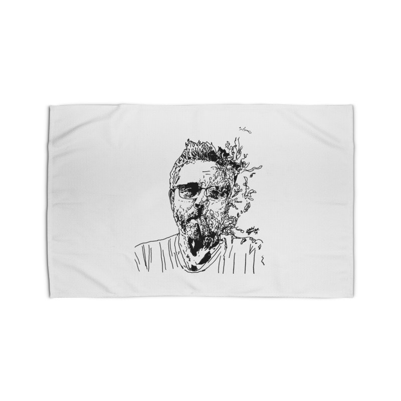 Life, Death, & Cigars (no text) Home Rug by Dying Out Loud Swag