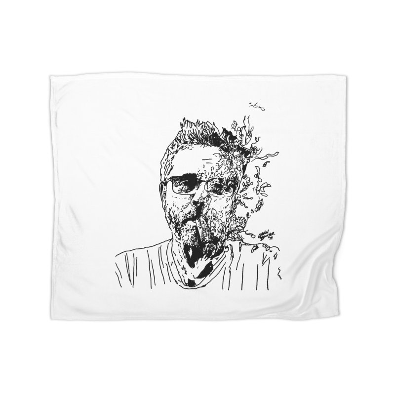 Life, Death, & Cigars (no text) Home Fleece Blanket Blanket by Dying Out Loud Swag