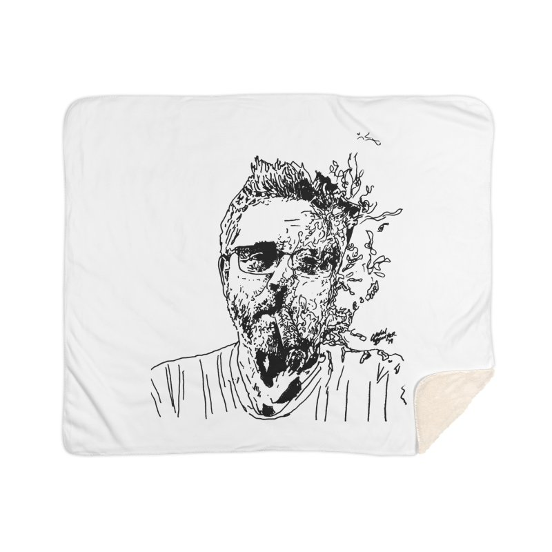 Life, Death, & Cigars (no text) Home Sherpa Blanket Blanket by Dying Out Loud Swag