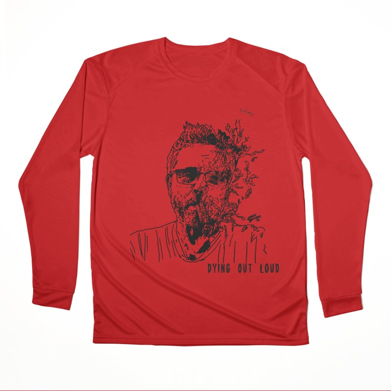 Life, Death & Cigars (Text) Men's Performance Longsleeve T-Shirt by Dying Out Loud Swag