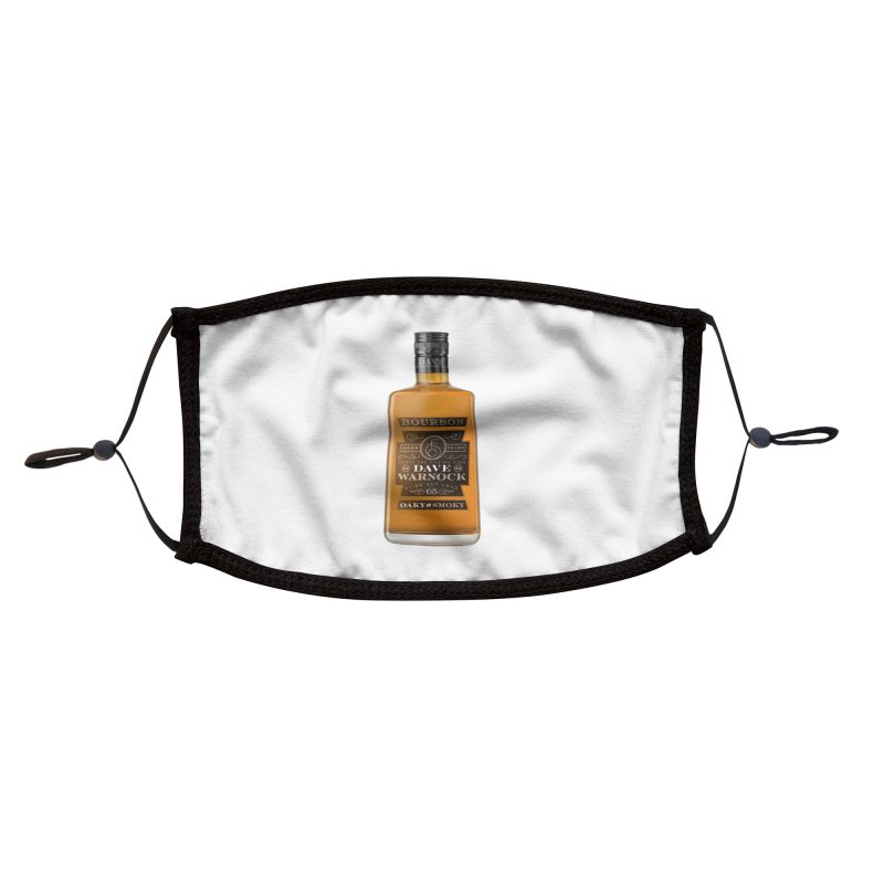 Dave Warnock Bourbon Accessories Face Mask by Dying Out Loud Swag