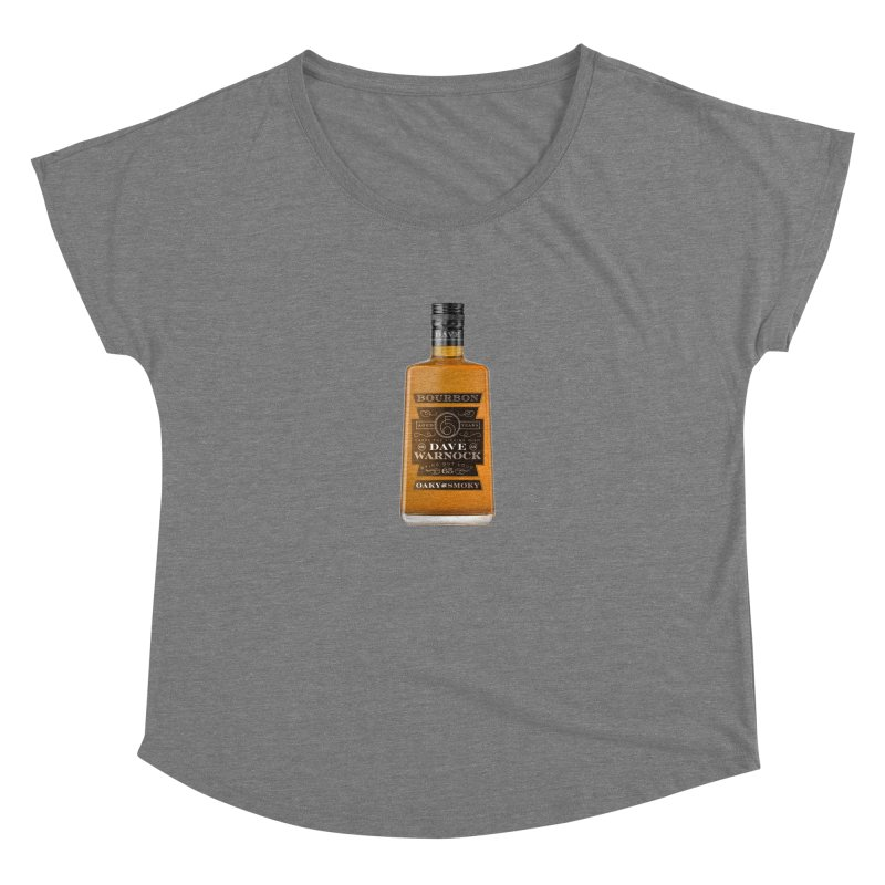 Dave Warnock Bourbon Women's Scoop Neck by Dying Out Loud Swag