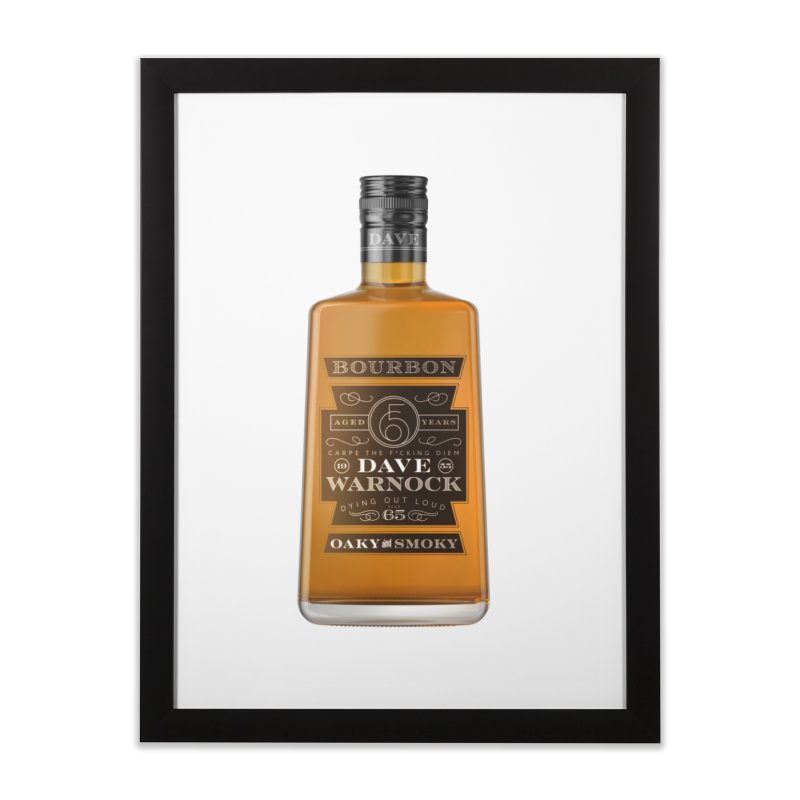 Dave Warnock Bourbon Home Framed Fine Art Print by Dying Out Loud Swag