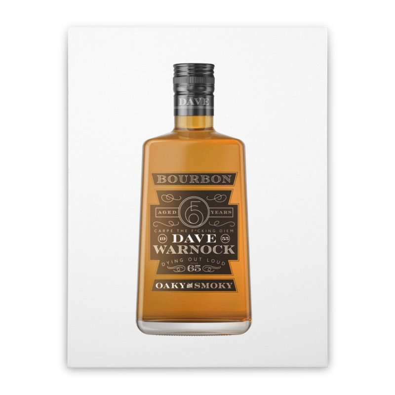 Dave Warnock Bourbon Home Stretched Canvas by Dying Out Loud Swag