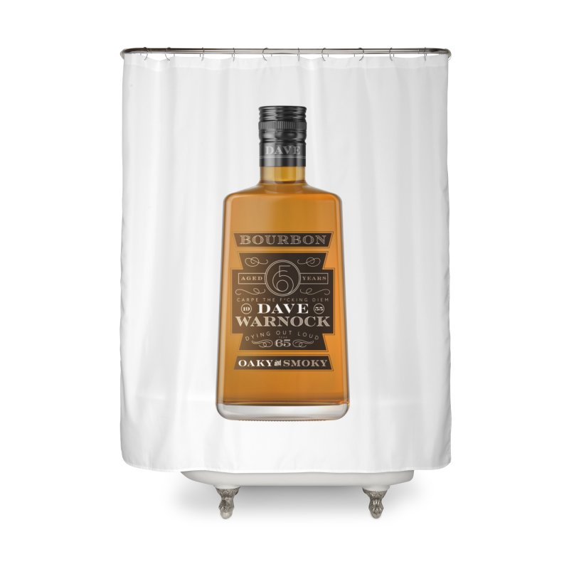 Dave Warnock Bourbon Home Shower Curtain by Dying Out Loud Swag