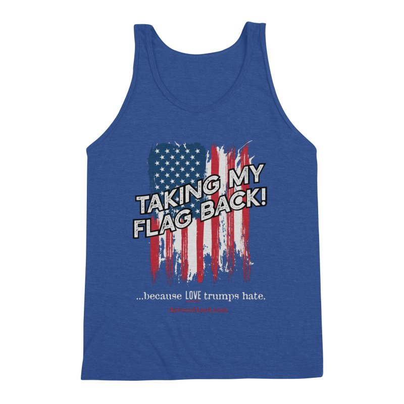 Taking My Flag Back Men's Tank by Dying Out Loud Swag