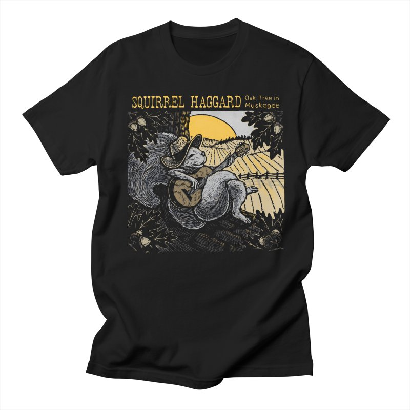 Squirrel Haggard Men's T-shirt by Dylan Goldberger's Shop