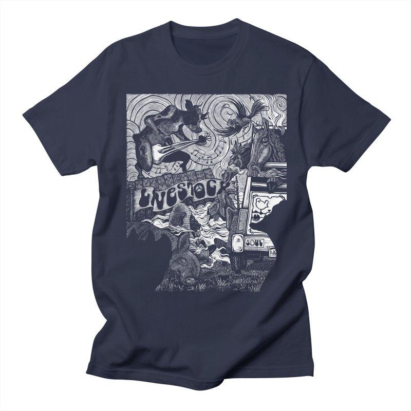Livestock Men's T-shirt by Dylan Goldberger's Shop