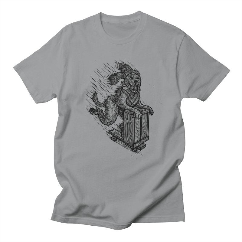 First Skate Dog Men's T-shirt by Dylan Goldberger's Shop