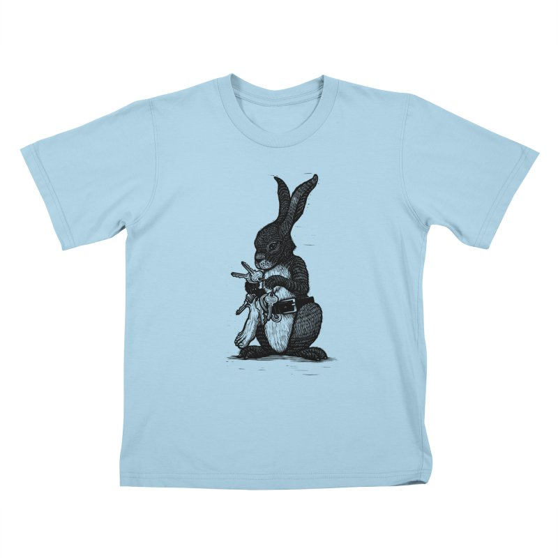Lucky Human Foot Kids T-Shirt by Dylan Goldberger's Shop