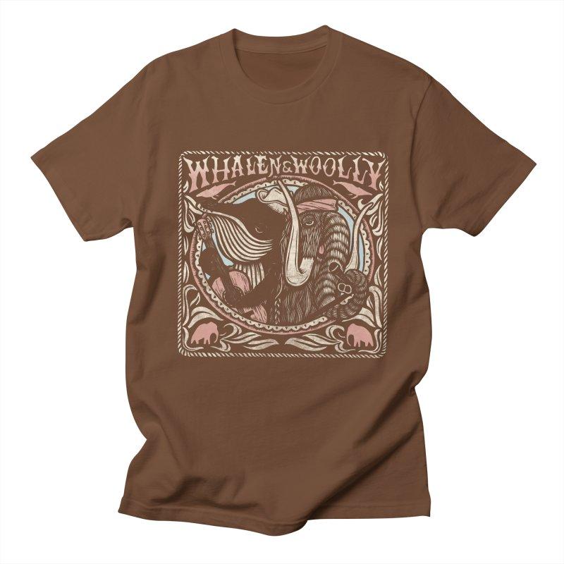 Whalen & Woolly Men's T-shirt by Dylan Goldberger's Shop