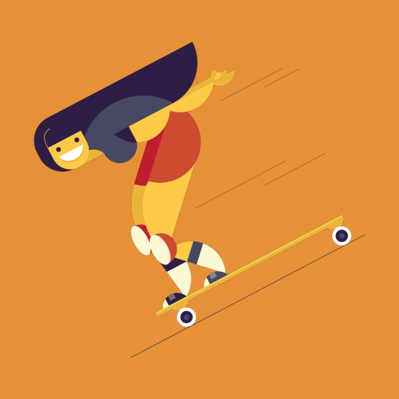 Longboarding by skatebored