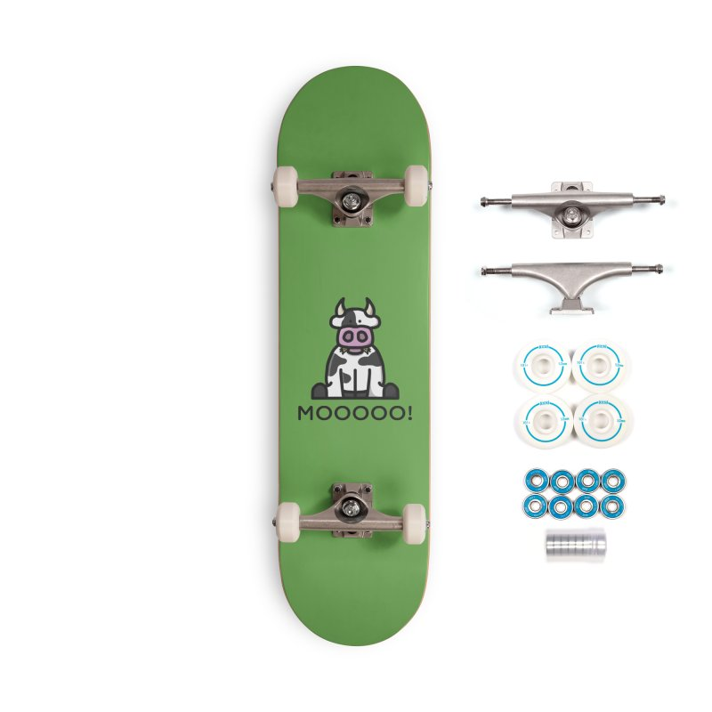 Moooo! Accessories Skateboard by dylankwok's Artist Shop