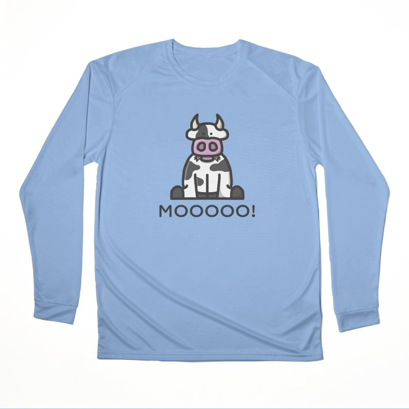 Moooo! Men's Longsleeve T-Shirt by dylankwok's Artist Shop